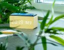 AVENWOOD induktiv 10W charging Bambus Wecker