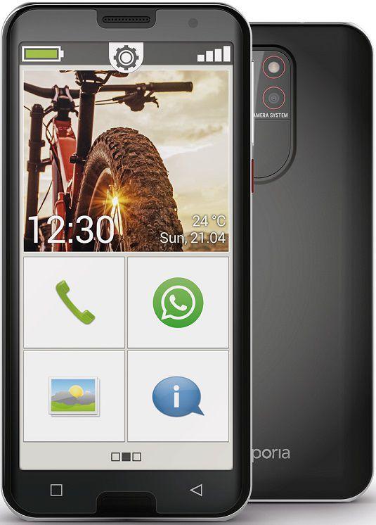 "emporiaSMART.5 (4G) 32GB SS 5.5"" black/silver"