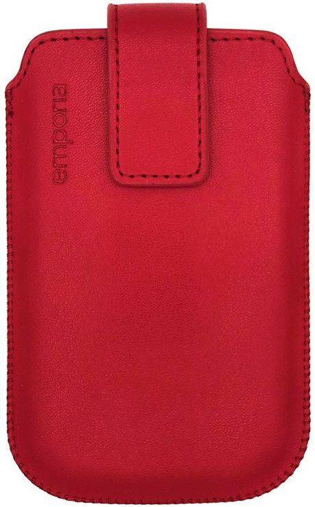emporia Cover/Case Nappa Slide Pocket V188 emporia TOUCHsmart red