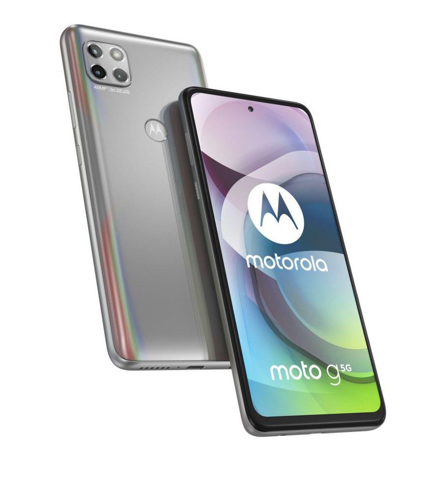 Motorola Moto G 5G 64GB Frost Silver
