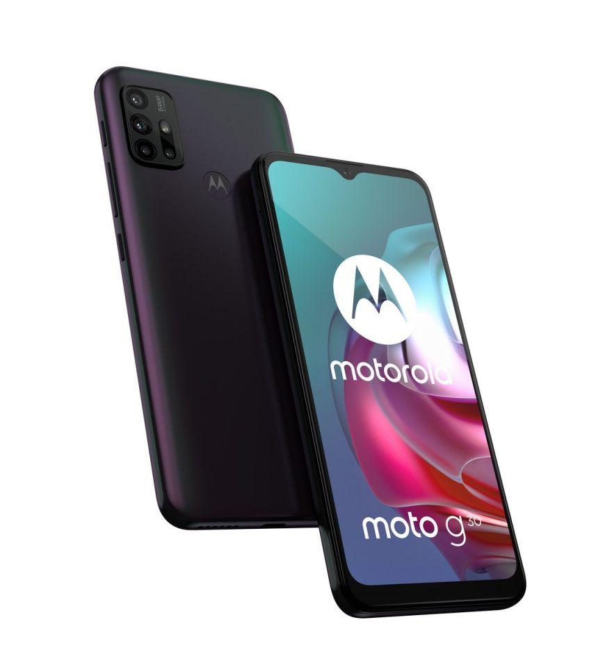 Motorola Moto G30 128GB Dark Pearl