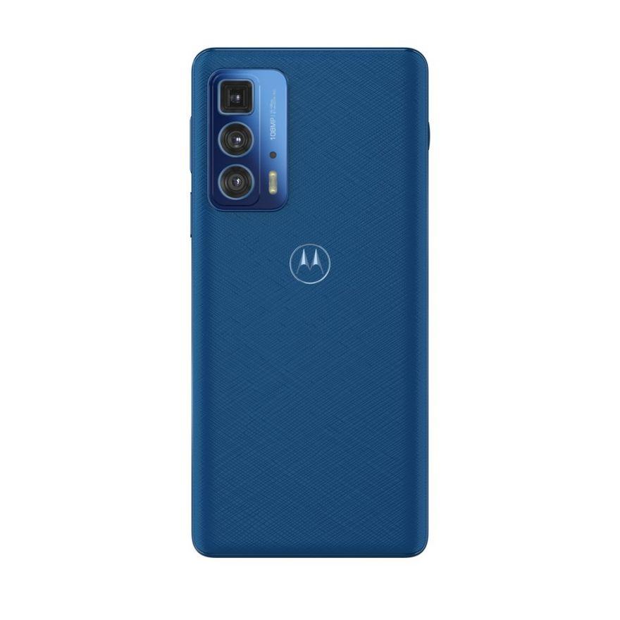Motorola Edge 20 Pro 5G 256GB Blue Vegan Leather