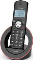 emporia SLF19AB DECT Schnurlostelefon / dig.Anrufbeantworter black/red