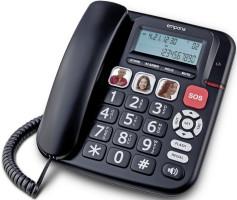emporia KFT19 Grosstasten Telefon black