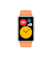 HUAWEI Watch Fit Fitness Tracker Cantaloupe Orange